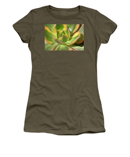 Women's T-Shirt (Junior Cut) featuring the photograph Cactus 4 by Jim and Emily Bush