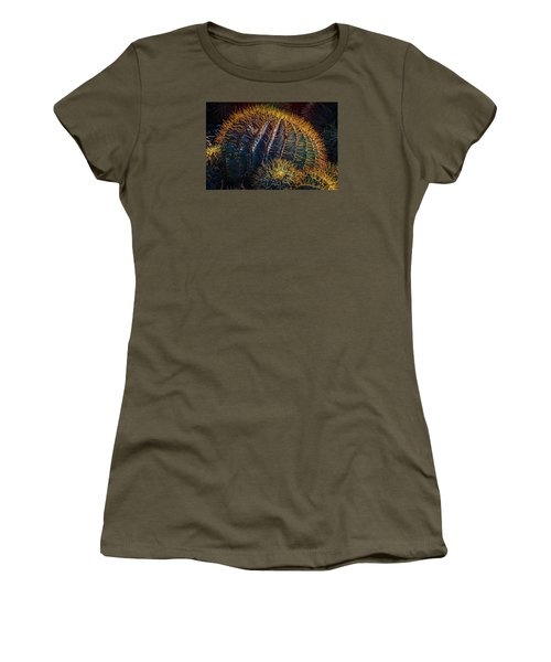 Women's T-Shirt featuring the photograph Cactus by Harry Spitz