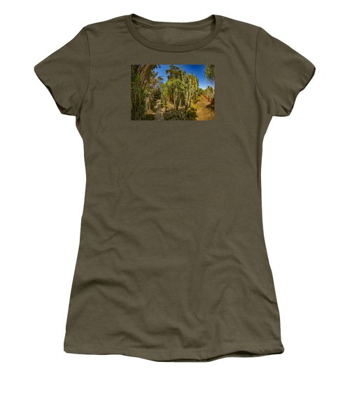 Cactus Jungle Women's T-Shirt (Athletic Fit)