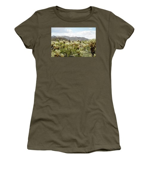 Cactus Paradise Women's T-Shirt (Junior Cut) by Amyn Nasser