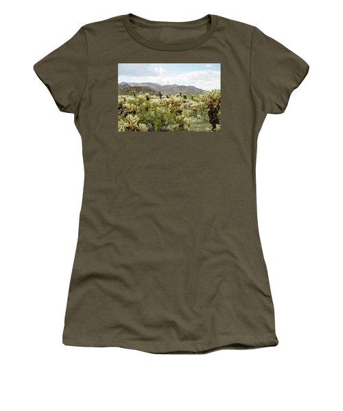 Cactus Paradise Women's T-Shirt (Junior Cut)