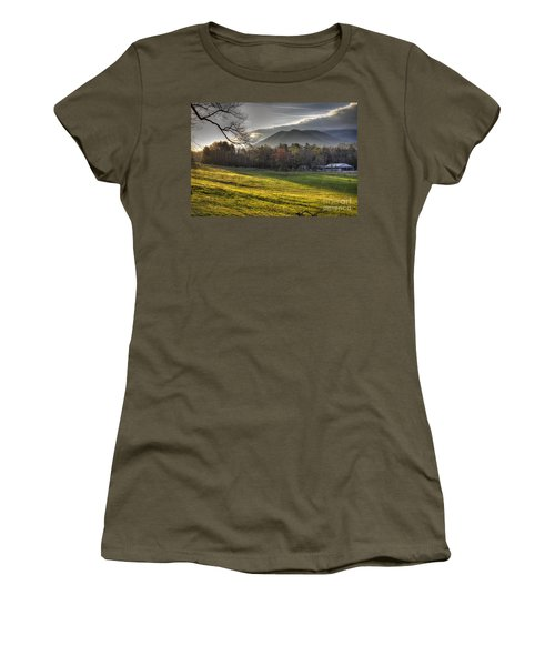 Cades Cove, Spring 2016,ii Women's T-Shirt (Athletic Fit)