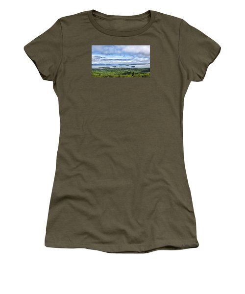 Cadillac Mountain View - Acadia National Park Women's T-Shirt (Athletic Fit)