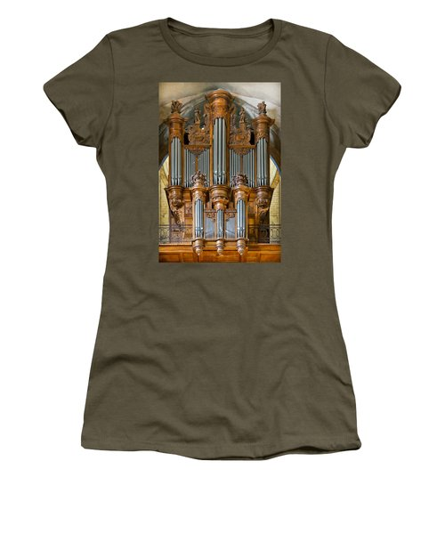 Cahors Cathedral Organ Women's T-Shirt