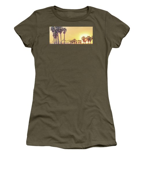Women's T-Shirt (Athletic Fit) featuring the photograph Cali Vibes by Az Jackson