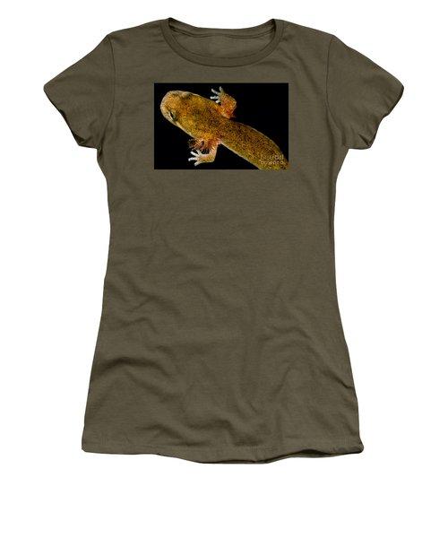California Giant Salamander Larva Women's T-Shirt (Junior Cut) by Dant� Fenolio