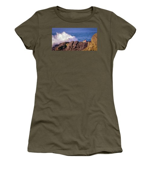 Women's T-Shirt (Athletic Fit) featuring the photograph California Morning by Samuel M Purvis III