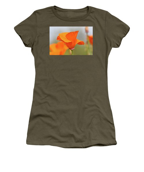California State Poppy Macro Women's T-Shirt