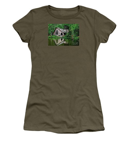 Callaway Gardens Ida Cason Chapel Women's T-Shirt (Athletic Fit)