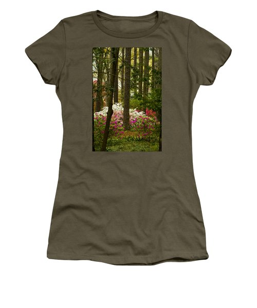 Callaway Gardens Spring Azaleas Women's T-Shirt (Athletic Fit)
