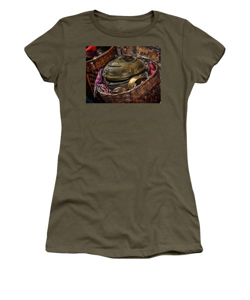 Women's T-Shirt (Junior Cut) featuring the photograph Camelback 8850 by Sylvia Thornton