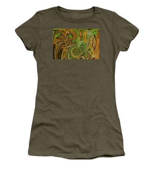 Camo Women's T-Shirt (Athletic Fit)