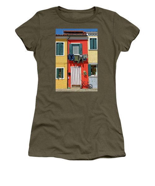 Can I Leave The Bike Outside? Women's T-Shirt