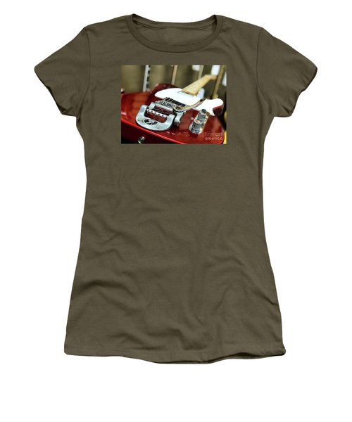 Candy Apple Fender Women's T-Shirt (Athletic Fit)