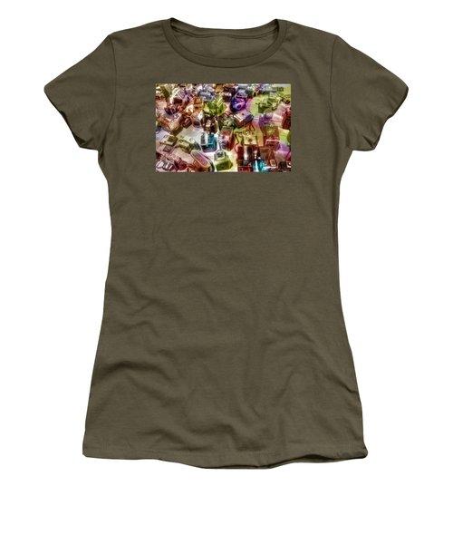 Women's T-Shirt (Junior Cut) featuring the photograph Candy Camera by Michaela Preston
