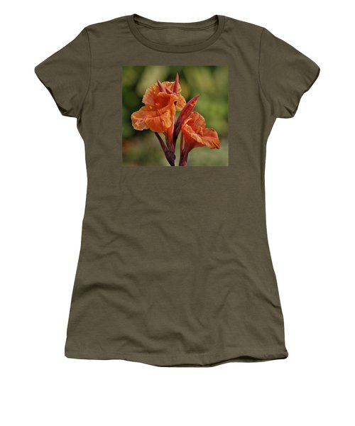 Canna Lily 2945_3 Women's T-Shirt (Athletic Fit)