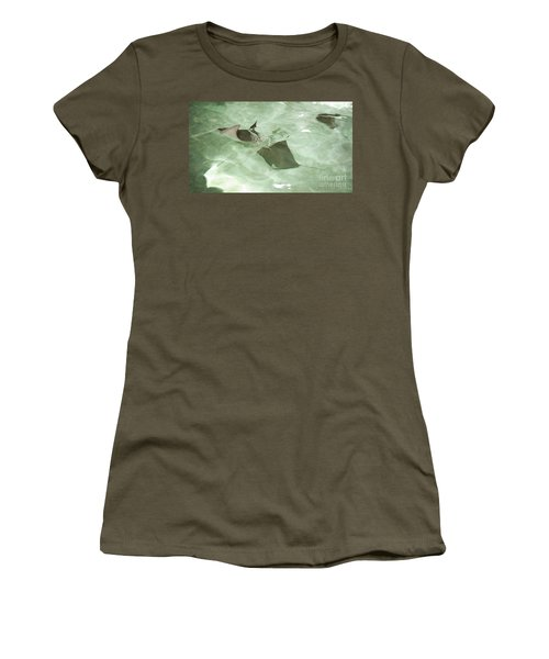 Women's T-Shirt (Athletic Fit) featuring the photograph Can't Catch Me by Carol Lynn Coronios