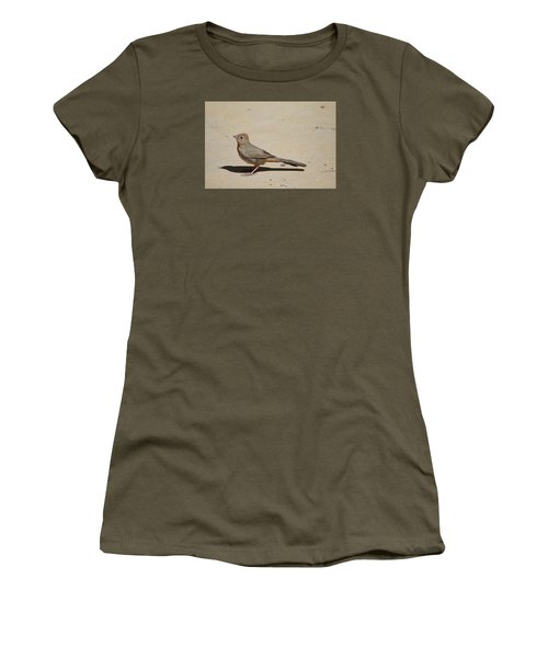Canyon Towhee Begs Women's T-Shirt (Athletic Fit)