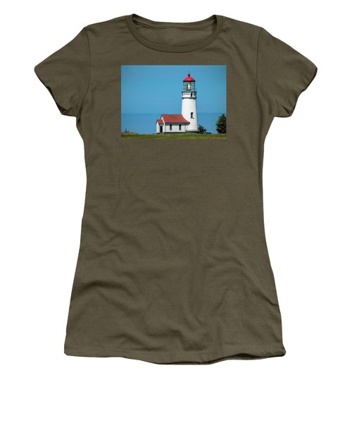 Cape Blanco Lighthouse At Cape Blanco, Oregon Women's T-Shirt