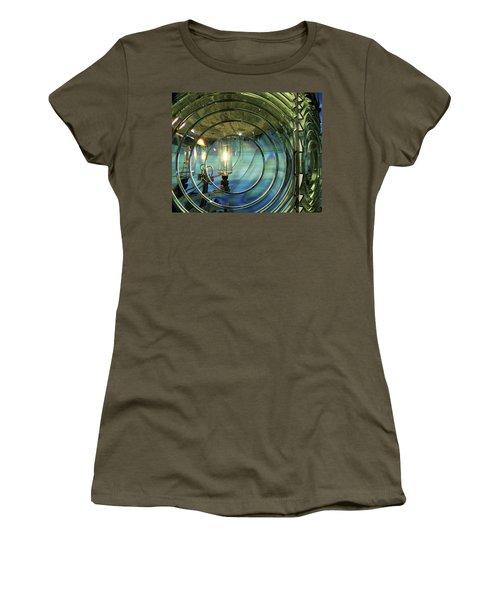 Cape Blanco Lighthouse Lens Women's T-Shirt