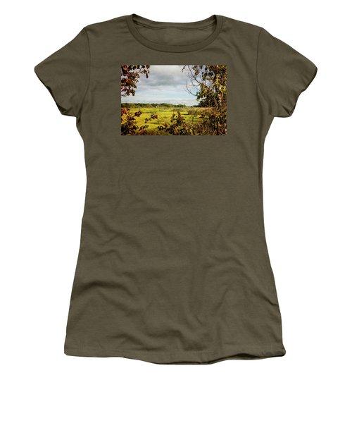 Cape Cod Marsh 3 Women's T-Shirt (Junior Cut)
