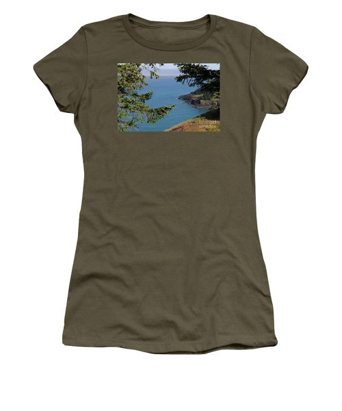 Cape Foulweather  Women's T-Shirt (Athletic Fit)