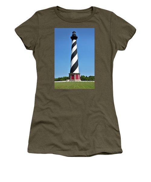 Cape Hatteras Light Women's T-Shirt (Athletic Fit)