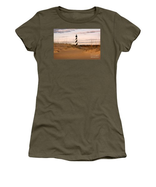 Cape Hatteras Lighthouse Women's T-Shirt (Athletic Fit)
