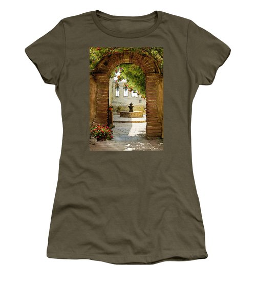 Capistrano Gate Women's T-Shirt (Athletic Fit)