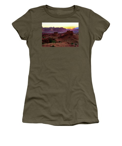 Capitol Reef Sunrise Women's T-Shirt