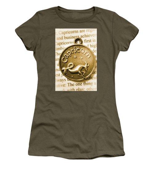 Capricorn Zodiac Lucky Charm Women's T-Shirt