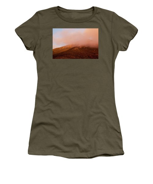 Caps Ridge Sunset Women's T-Shirt (Athletic Fit)