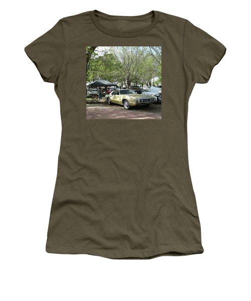 Car Show Saturday Women's T-Shirt (Junior Cut) by Jack Pumphrey
