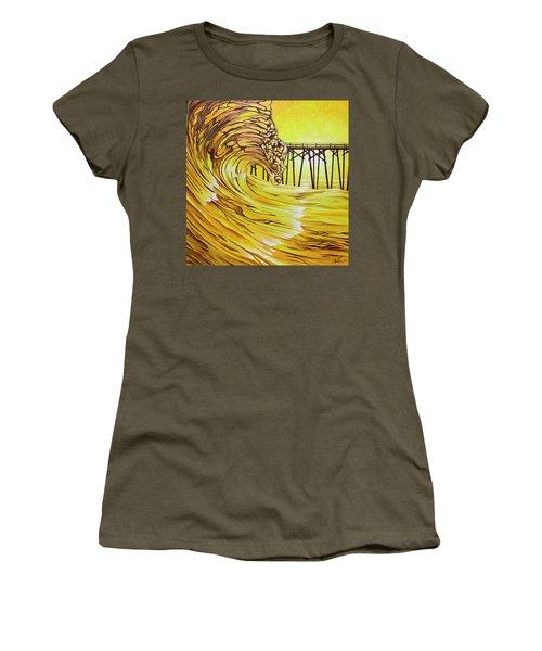 Carolina Beach North End Pier Women's T-Shirt