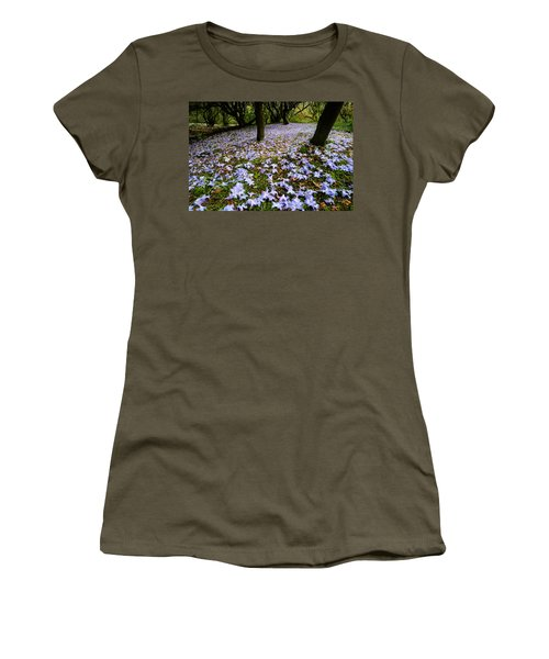 Carpet Of Petals Women's T-Shirt (Athletic Fit)