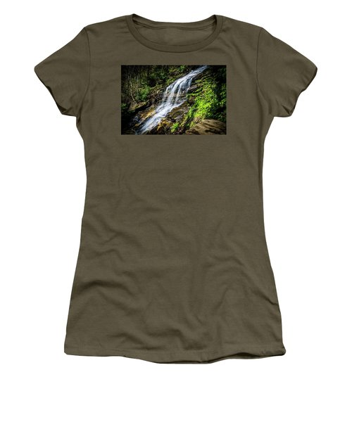 Cascade Falls Women's T-Shirt (Athletic Fit)