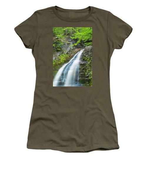 Cascade Waterfalls In South Maine Women's T-Shirt