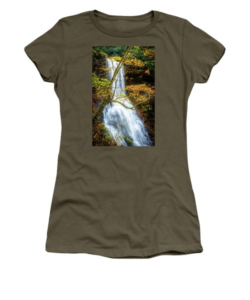 Cascades Deck View Women's T-Shirt (Athletic Fit)