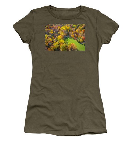 Castle In Fall Women's T-Shirt