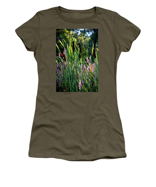 Cat Tails In The Morning Women's T-Shirt