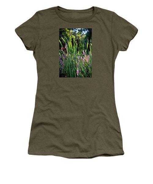 Cat Tails In The Morning Women's T-Shirt (Junior Cut)