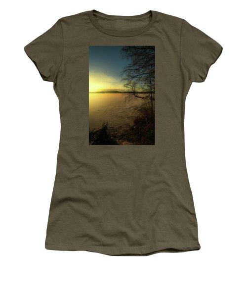 Catch The Light Women's T-Shirt (Junior Cut) by Rose-Marie Karlsen