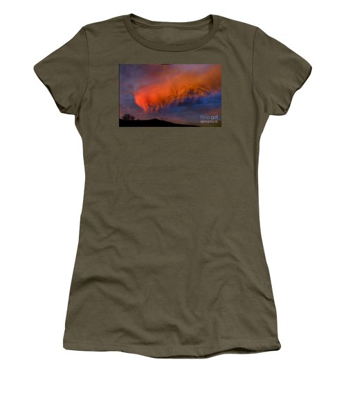 Caterpillar Cloud In The Sky Women's T-Shirt (Athletic Fit)