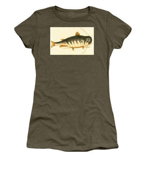 Catfish Women's T-Shirt (Junior Cut) by Mark Catesby