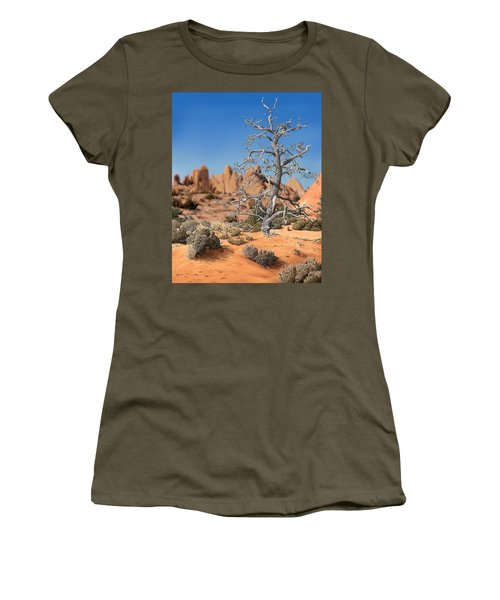 Caught In Your Dying Arms Women's T-Shirt
