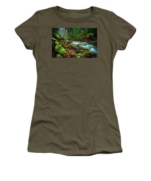 Cave Branch #15 Women's T-Shirt (Athletic Fit)