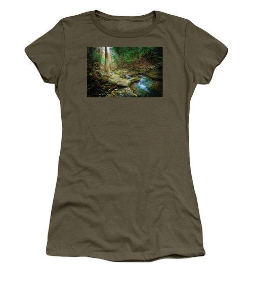 Cave Branch #9 Women's T-Shirt (Athletic Fit)