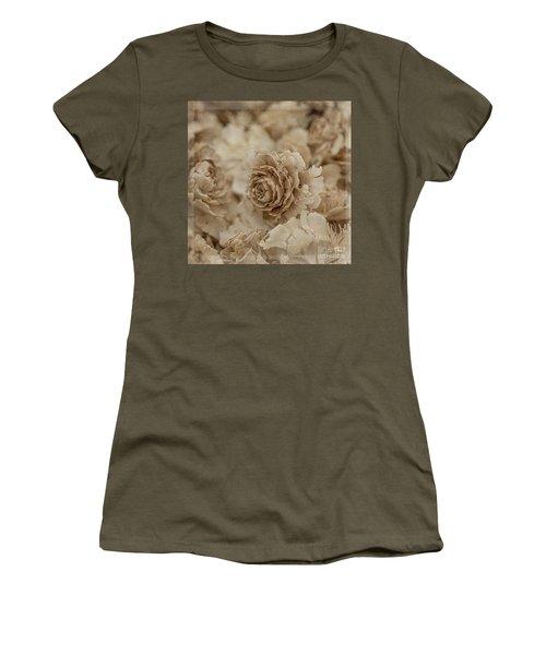 Cedar Rose Square - 3347 Women's T-Shirt (Athletic Fit)