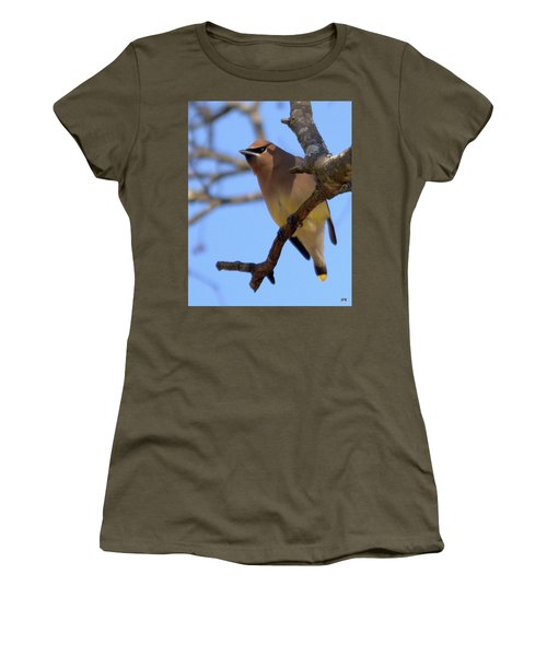 Cedar Waxwing Women's T-Shirt