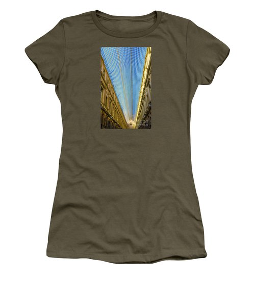 Women's T-Shirt (Junior Cut) featuring the photograph Ceiling  by Pravine Chester